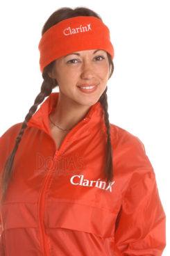 Vincha accesorio Grupo Clarín