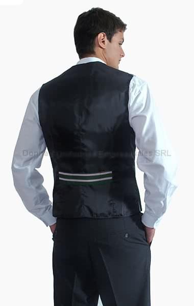 Chalecos para uniformes masculinos donnas uniformes for Disenos de chalecos